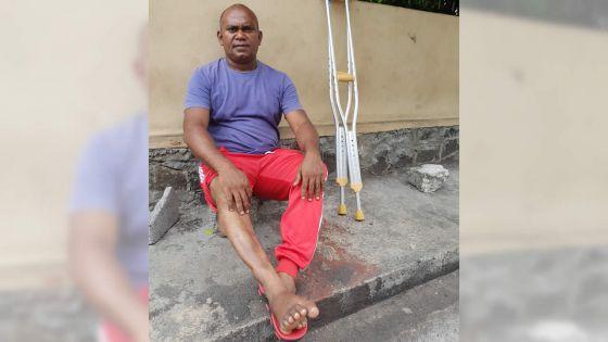 Après un accident de travail - Alex Marie : «Monn retrouv mwa a zero»