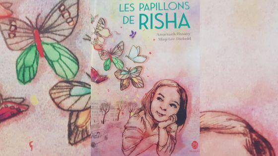 Livre : dans le monde de Risha et ses papillons