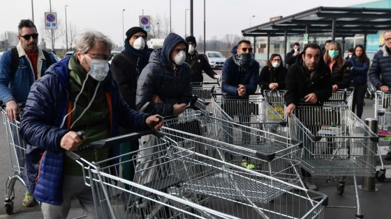 Nouveau coronavirus: 132 cas en Italie selon un nouveau bilan