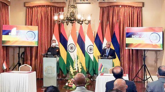 Financement indien :Rs 2,65 Md pour un laboratoire, un collège public, des tuyaux…