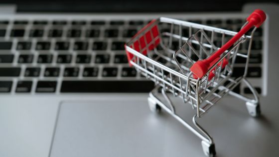 Avec le confinement national : les achats en ligne gelés
