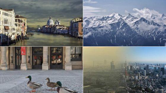 [En images] Journée mondiale de la Terre : les bienfaits du confinement