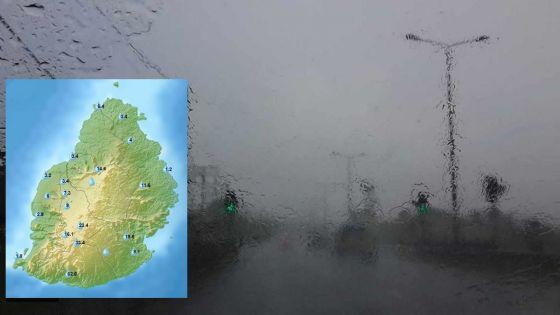 Météo : les fortes pluies persisteront dans le Sud ce vendredi après-midi