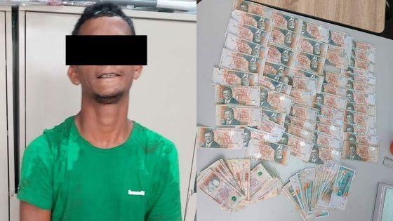 Vol au bureau du député Eshan Juman : Rs 125 000 saisies sur le présumé voleur