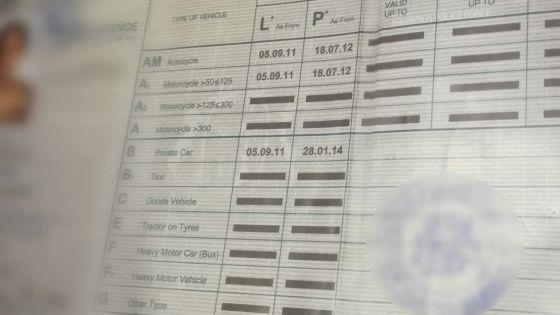 Permis de conduire falsifiés : les copies identiques aux originaux étonnent la police