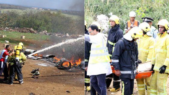 Simulation à Belle-Vue : un crash d'avion fait10 victimes, 66 rescapés