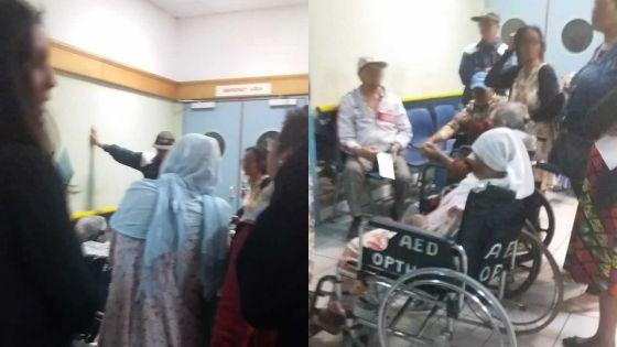 Cafouillage à l'hôpital Victoria