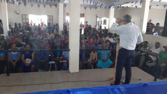 Annonce de Xavier-Luc Duval à Rodrigues : «Des candidats du PMSD aux élections régionales et générales»
