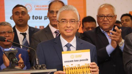 Manifeste électoral de l'Alliance Morisien : «des amendements appropriés seront introduits afin de clairement déterminer les échéances pour les élections municipales et villageoises»
