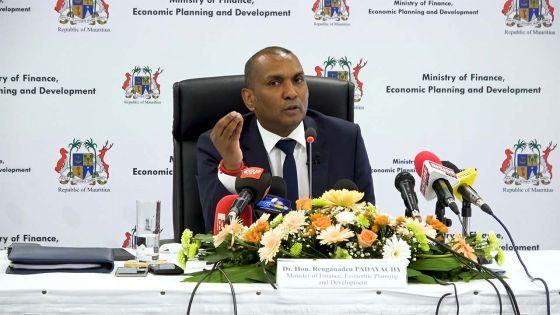 Contraction économique de 14,2 % en 2020, selon Padayachy