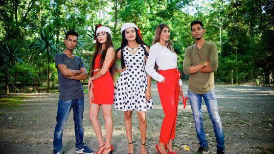 En mode Noël avec Shaja Khodabuccus