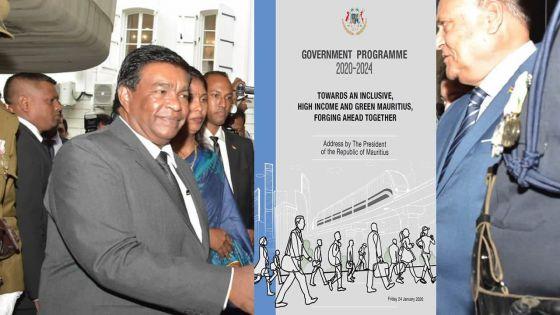 Discours-programme : la stratégie gouvernementale pour une société inclusive et à hauts revenus