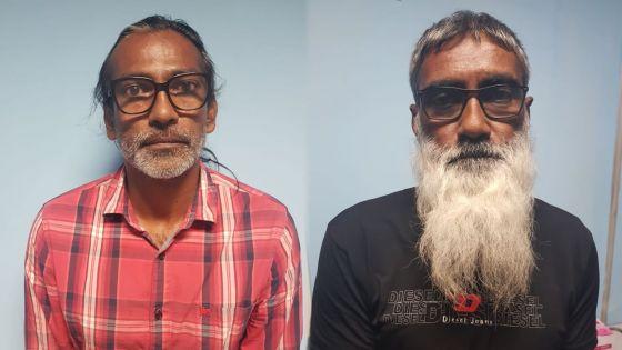 À cent gaulettes, Mahébourg : deux frères coffrés pour trafic de cannabis