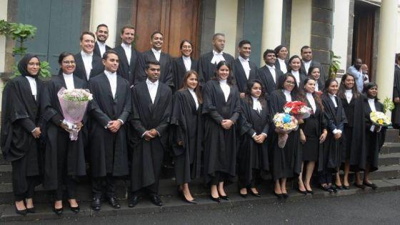 Judiciaire : Maurice compte 52 nouveaux avocats
