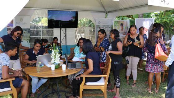 Projet hôtelier : Job Fair réussie de Beachcomber à Rivière-Noire