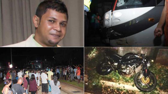 Collision entre un tram du Metro Express et un motocycliste :Yannick Permal meurt à deux jours de son anniversaire