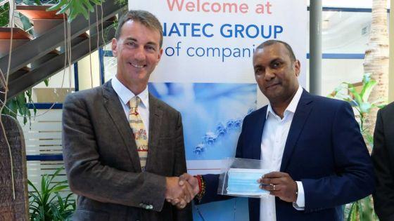 Pharmacologie : Natec Medical se lance dans la production de masques jetables