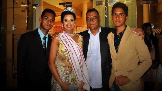 Kavishree Bhawaneedin en route pour Mrs World