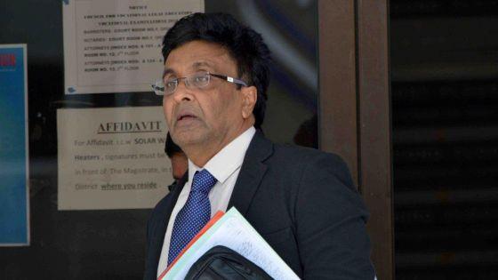 Escroquerie alléguée : Prakash Boolell conteste les magistrats présidant son procès