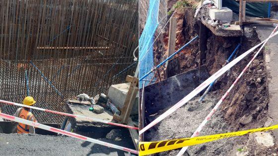 Metro Express : des barricades cѐdent