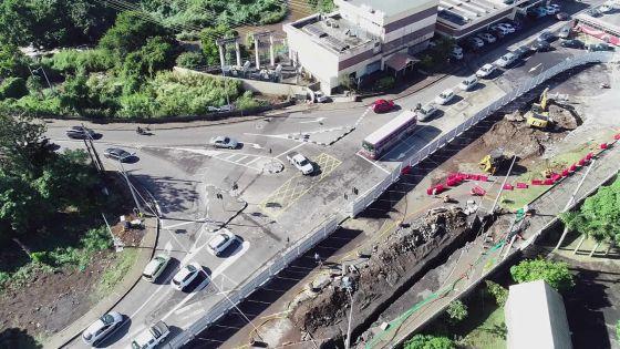 Travaux Metro Express : l'accès au South Underpass situé au Caudan partiellement fermé