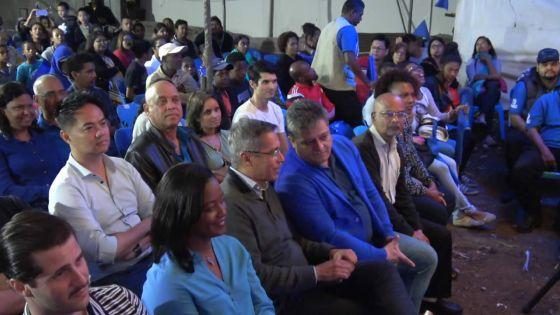 Congrès nocturne à Rose-Hill : Xavier-Luc Duval souhaiteune campagne civilisée