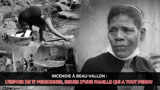 Incendie à Beau-Vallon : l'espoir de 17 personnes, issues d'une famille qui a tout perdu