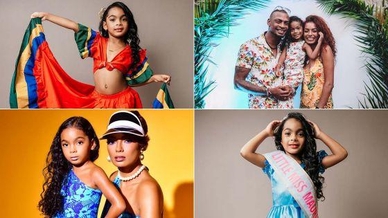 Emaïa Lamarque élue Miss Cinderella of the World Mauritius Miniature