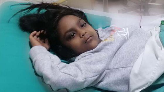 Transfert de la moelle osseuse : Reedhi, 7 ans, compte sur vous pour vivre