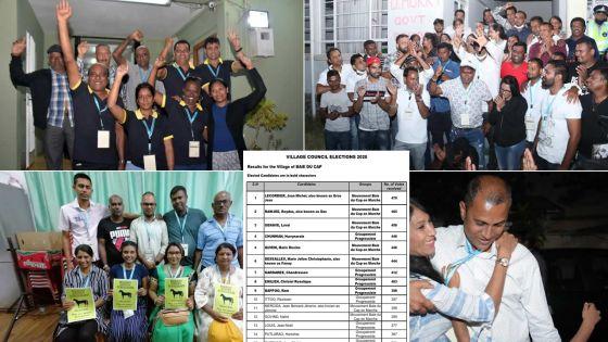 Élections villageoises : découvrez les résultats dans les 130 villages