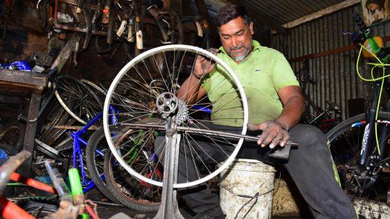 Réparation de vélos : la bicyclette ne terminera pas sa course dans un musée