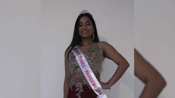 Zina Peerally - Miss Franco-Mauricienne, 2019 : «Plus qu'un concours de beauté, c'est un concours d'intelligence»