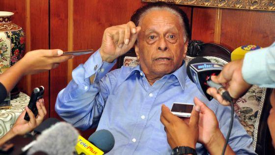 SAJ : «Roshi Bhadain est parti car il n'a pas eu les Finances»
