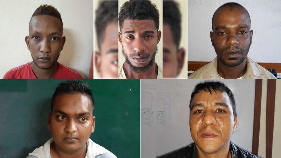 Lutte antidrogue : plusieurs présumés trafiquants écroués