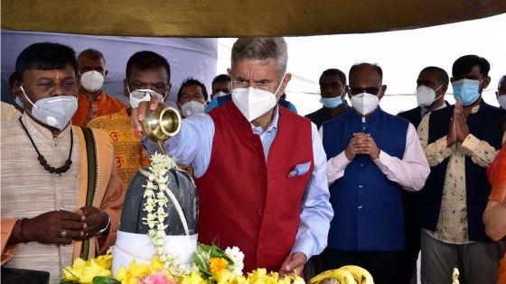 Dr Subrahmanyam Jaishankar :«Venir à Maurice c'est un homecoming»