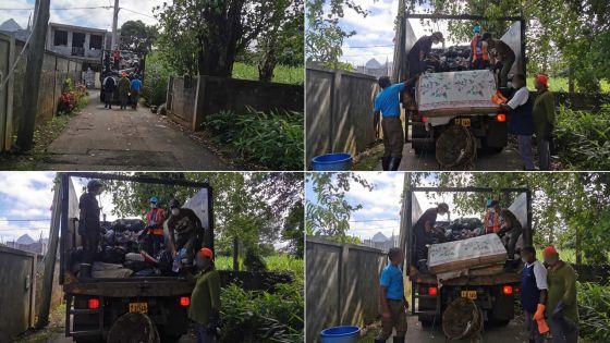 Confinement total : le ramassage d'ordures se fait normalement à St-Pierre