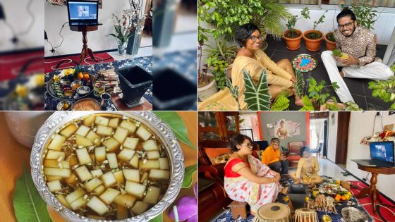Confinement : la famille Pentayah célèbre l'Ougadi en famille via skype