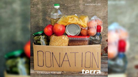 Terra distribue 206 kits alimentaires aux vulnérables
