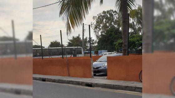 À Plaine Verte : acte de vandalisme ?