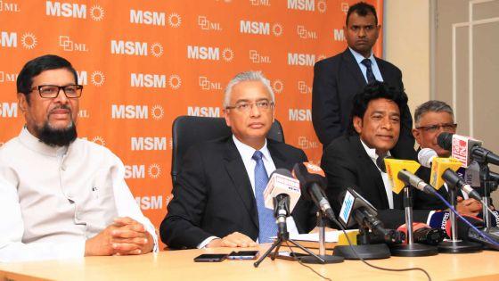 Démission aux Affaires étrangères : le PM critique le manque d'égard de Lutchmeenaraidoo
