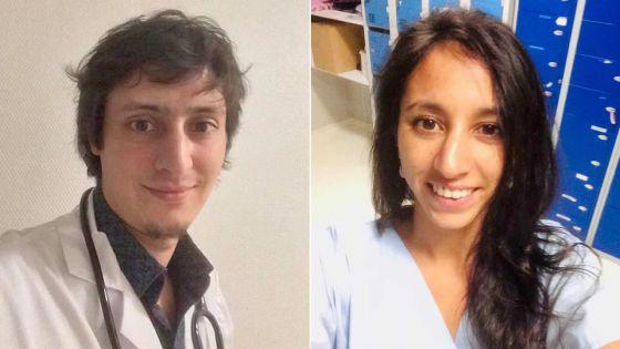 Deux médecins d'origine mauricienne, en première ligne contre le Covid-19 en France