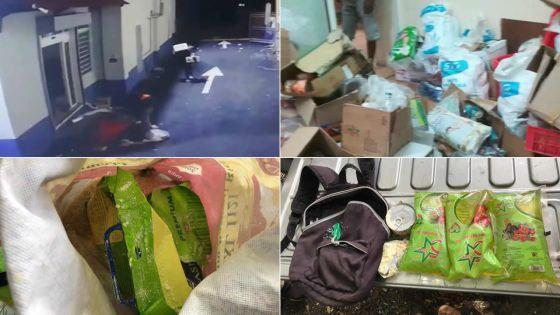 """Arrêté pour vol à Dream Price de Vallée-des-Prêtres, un suspect : """"Nu faim, pena mange"""""""