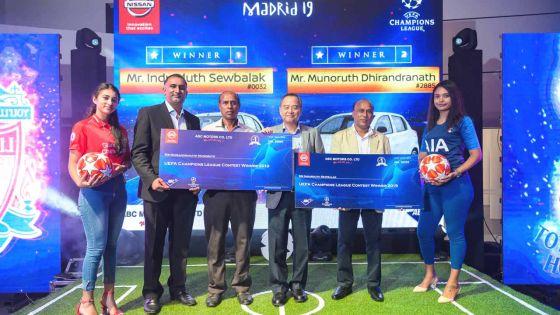 Deux mauriciens à Madrid pour la finale de l'UEFA Champion's League