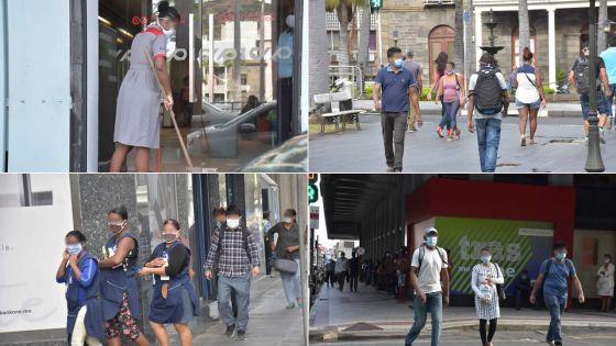 [En images] Confinement, jour 68… dans les rues de Port-Louis ce matin