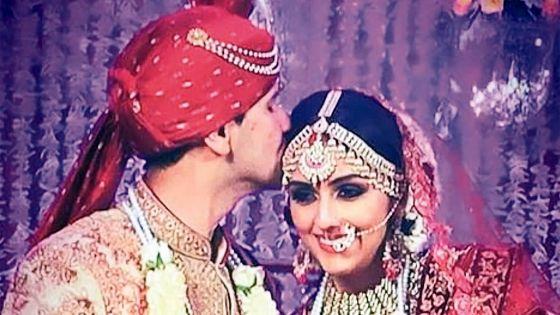 L'actrice Aarti Chabria a épousé le Mauricien Visharad Beedassy