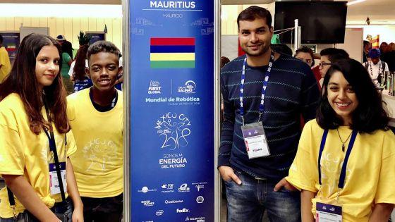 Concours de robotique : des collégiens mauriciens atteignent les demi-finales au Mexique