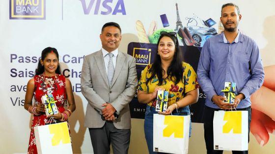 Secteur bancaire : la MauBank récompense ses premiers clients de Visa Debit
