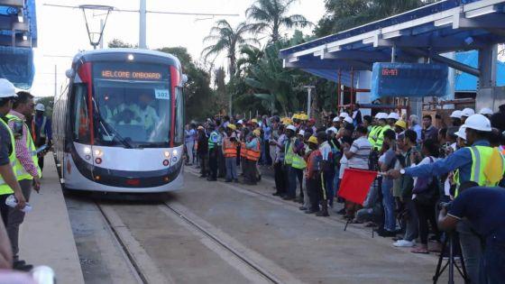 Le Metro Express pas opérationnel avant Noël