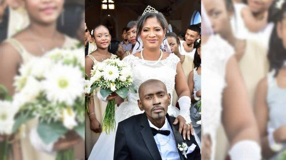 Atteint d'un cancer au stade avancé : Whesley épouse Queenzi, la femme de sa vie