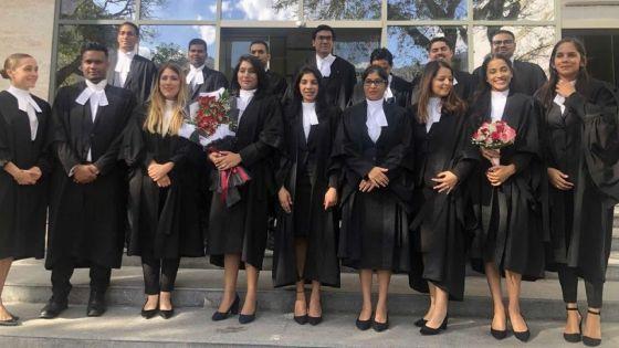 Système judiciaire : 23 nouveaux avocats font leur entrée